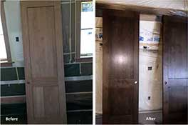 Custom Stained Doors